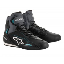 Alpinestars Stella Faster-3 Shoes Black Gray Ocean