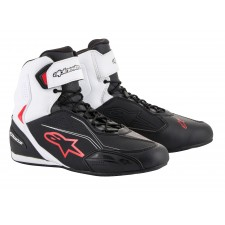 Alpinestars Faster-3 Shoes Black White Red