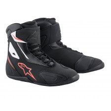 Alpinestars Fastback-2 Shoes Black White Red Fluo