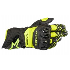 Alpinestars Gp Pro R3 Gloves Black Yellow Fluo
