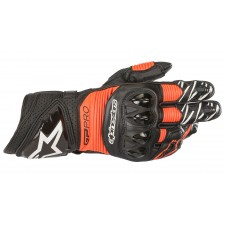 Alpinestars Gp Pro R3 Gloves Black Red Fluo