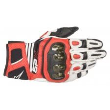 Alpinestars Sp X Air Carbon V2 Glove White Black Bright Red