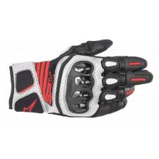 Alpinestars Sp X Air Carbon V2 Glove Black White Red Fluo