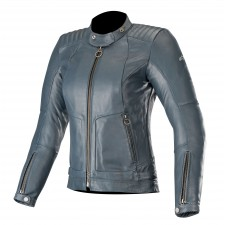 Alpinestars Gal Womens Leather Jacket Mood Indigo