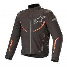 Alpinestars T-fuse Sport Shell Wp Jacket Black Red Fluo