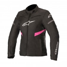 Alpinestars Stella T-kira Waterproof Jacket Black Fuchsia