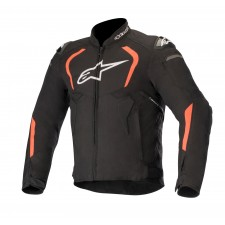 Alpinestars T-gp Pro V2 Jacket Black Red Fluo