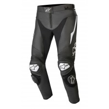 Alpinestars Track V2 Leather Pants Black White