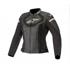 Alpinestars Stella Jaws V3 Leather Jacket Black