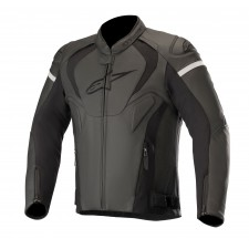 Alpinestars Jaws V3 Leather Jacket Black Black