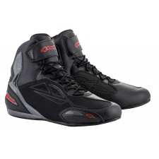 Alpinestars Faster-3 Drystar Shoes Black Gray Red