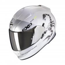 Scorpion EXO-510 AIR PIQUE Blanc Perle Argent