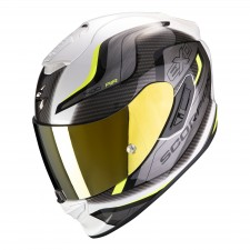 Scorpion EXO-1400 AIR ATTUNE White-Neon Yellow