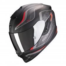 Scorpion EXO-1400 AIR ATTUNE Matt Black-Red