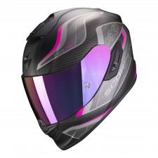 Scorpion EXO-1400 AIR ATTUNE Matt Black-Pink