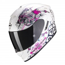 Scorpion EXO-1400 AIR TOA White-Pink