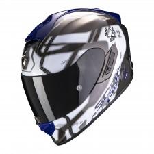 Scorpion EXO-1400 AIR SPATIUM White-Blue