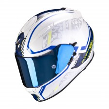Scorpion EXO-510 AIR Occulta Pearl White-Blue