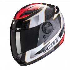 Scorpion EXO-490 TOUR White-Red