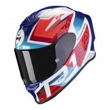 Scorpion EXO-R1 AIR INFINI White-Blue-Red