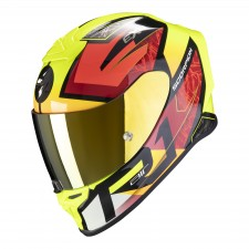 Scorpion EXO-R1 AIR INFINI Black-Red-Neon Yellow