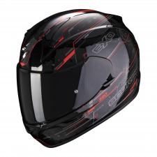 Scorpion EXO-390 BEAT Black-Neon Red
