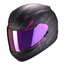 Scorpion EXO-390 BEAT Matt Black-Pink