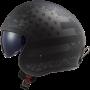 LS2 OF599 SPITFIRE BLACK FLAG