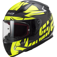 LS2 FF353 RAPID CROMO MATT BLACK HI VIS YELLOW