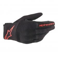 Alpinestars Copper Gloves Black Red Fluo