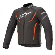 Alpinestars T-jaws V3 Waterproof Jacket Black Red Fluo