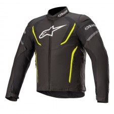 Alpinestars T-jaws V3 Waterproof Jacket Black Yellow Fluo