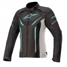 Alpinestars Stella T-jaws V3 Waterproof Jacket Black White Teal