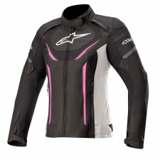 Alpinestars Stella T-jaws V3 Waterproof Jacket Black White Fuchsia