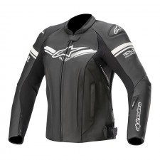 Alpinestars Stella Gp-r Leather Jkt Tech-air Compatible Black