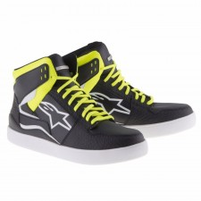 Alpinestars Stadium Shoes Black Yellow Fluo Red