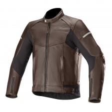 Alpinestars Sp-55 Leather Jacket Tobacco Brown