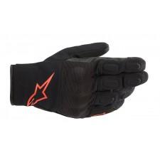 Alpinestars S Max Drystar Gloves Black Red Fluo