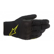 Alpinestars S Max Drystar Gloves Black Yellow Fluo