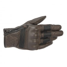Alpinestars Rayburn V2 Leather Gloves Tobacco Brown