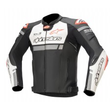 Alpinestars Missile Ignition Lt Jacket Tech-air Compatible Black White Red Fluo
