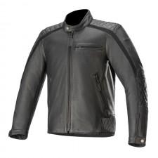 Alpinestars Hoxton V2 Leather Jacket Black
