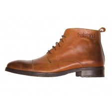 Helstons Heritage Cuir Aniline Camel Cire