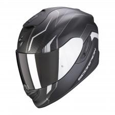 Scorpion EXO-1400 AIR FORTUNA Noir mat-Argent