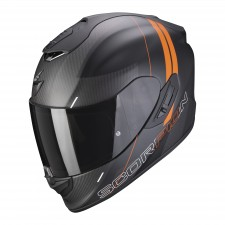 Scorpion EXO-1400 CARBON AIR DRIK Noir mat-Orange