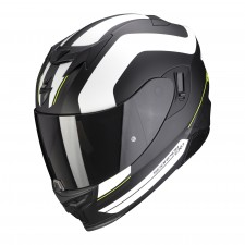 Scorpion EXO-520 AIR LEMANS Noir mat-Argent-Blanc