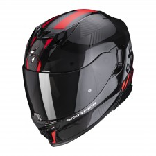 Scorpion EXO-520 AIR LATEN Noir-Rouge