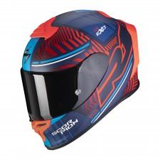 Scorpion EXO-R1 AIR VICTORY Bleu mat-Rouge