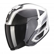 Scorpion EXO-S1 CROSS-VILLE Blanc-Noir-Argent