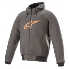 Alpinestars Chrome Sport Hoodie Tar Gray Flame Orange